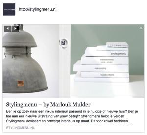 Stylingmenu Marlouk Mulder